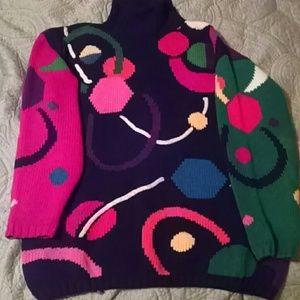 Vintage Lisa Nichols Turtleneck Sweater